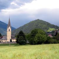 Pfarrkirche Kolbnitz - im Hintergrund der Danielsberg