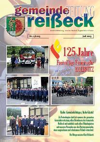 Gemeindezeitung Reißeck Nr. 1/2013